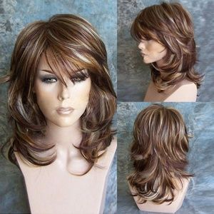 Accessories - Wavy Wave hair highlights wig